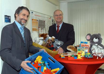 Dr. Joachim Gerner und Lothar Binding